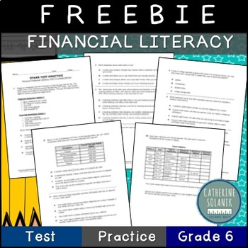 free 6th grade math staar prep financial literacy credit. Black Bedroom Furniture Sets. Home Design Ideas