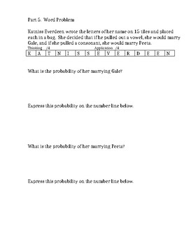 GRADE 6 PROBABILITY UNIT TEST (SHORT), ONTARIO CURRICULUM