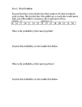 GRADE 6 PROBABILITY UNIT TEST (SHORT), ONTARIO CURRICULUM, GRADE 6 MATH