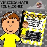 6TH GRADE MATH 2016 VIRGINIA SOL MATH INTERACTIVE NOTEBOOK