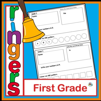 FIRST GRADE YEAR LONG BELL RINGERS