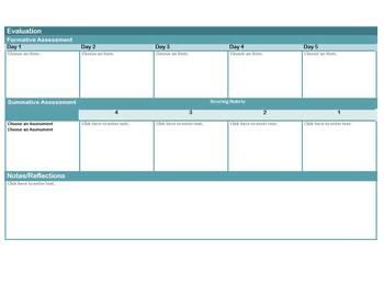 GRADES 3-5 Common Core Aligned Mathematics Interactive Lesson Plan Templates