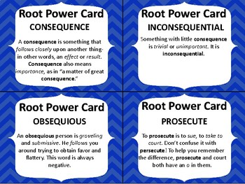 GRADES 4-6 GREEK AND LATIN ROOT WORD ACTIVITY GAME QUIZ #2
