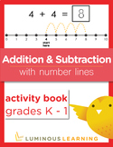 Grades K - 1 Addition and Subtraction with Number Lines: A