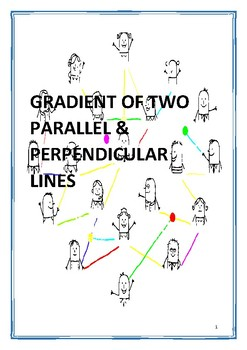 GRADIENTS OF Parallel & Perpendicular Lines