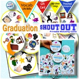 GRADUATION 2017 Spot the Match Game Shout Out; + Gift card & box