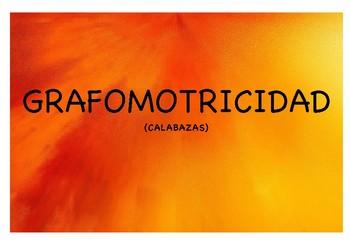 GRAFOMOTRICIDAD CALABAZAS