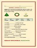 GRAMMAR: A CHRISTMAS NOUN ACTIVITY!