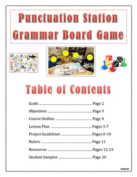 GRAMMAR BOARD GAME PROJECT