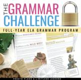 GRAMMAR CHALLENGE FULL YEAR PROGRAM  ESCAPE CHALLENGES  |