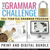 GRAMMAR CHALLENGE PROGRAM ESCAPE CHALLENGES DIGITAL & PRIN