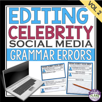 GRAMMAR: EDITING CELEBRITY SOCIAL MEDIA  (VOL 2)