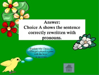 GRAMMAR JEOPARDY GAME POWERPOINT GRADE 5 ~ NOUNS, PREPOSITIONS, SENTENCES, MORE
