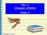 GRAMMAR JEOPARDY GAME POWERPOINT GRADE 5 ~ NOUNS, PREPOSIT