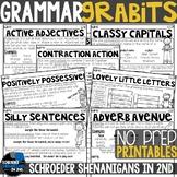GRAMMAR PRINTABLES NO PREP | GRABITS