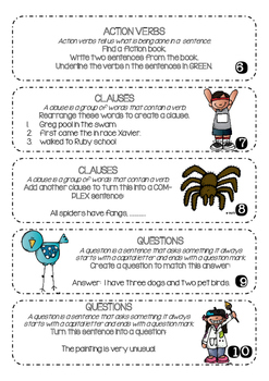 GRAMMAR - Nouns, Verbs and More