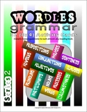 GRAMMAR (Parts of Speech) Activity Cards:Wordles Series 2