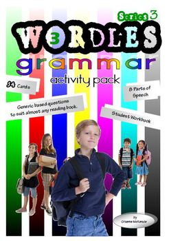 GRAMMAR (Parts of Speech) Activity Pack: Wordles Series 3