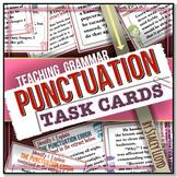 [GRAMMAR] Punctuation TASK CARDS