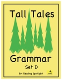 Tall Tales Grammar Review: Set D (Distance Learning)
