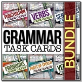 [GRAMMAR] Task Cards BUNDLE