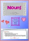 GRAMMAR - Valentine's Day Nouns Activity Sheets and Games