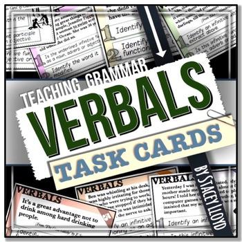 [GRAMMAR] Verbals TASK CARDS