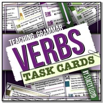 [GRAMMAR] Verbs TASK CARDS