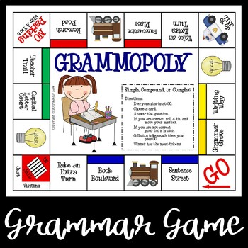 GRAMMOPOLY--Simple, Compound, or Complex