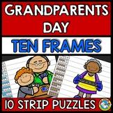 GRANDPARENTS DAY KINDERGARTEN ACTIVITY (NUMBER SENSE CENTER) TEN FRAMES