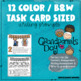 GRANDPARENTS' DAY STORY STARTERS QR CODE & TASK CARD STYLE