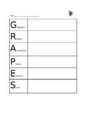 GRAPES Graphic Organizer