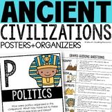 Ancient Civilizations GRAPES Poster Set