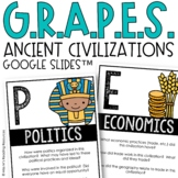 GRAPES Ancient Civilizations Poster Set