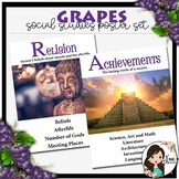 GRAPES Social Studies Posters {White Edition}