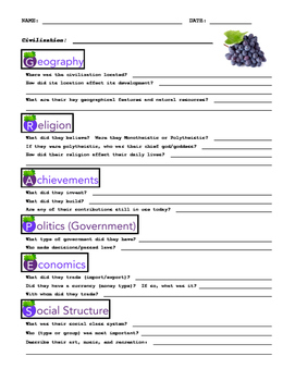 GRAPES Worksheet