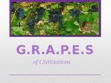 GRAPES of Ancient Civilizations