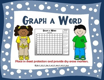 GRAPH A WORD spelling center