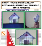 GRAPH PAPER HOUSE PROJECT for Grades 5,6,7 and 8
