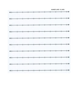 GRAPH PAPER- 7 TYPES- MATH- NO PREP