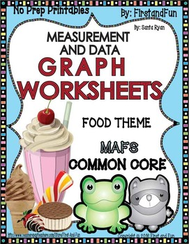 GRAPH WORKSHEET NO PREP PRINTABLE PACK COMMON CORE MAFS ENVISION