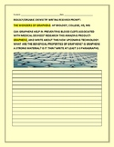 GRAPHENE: A SCIENCE WRITING RESEARCH PROMPT: COLLEGE, AP BIO, HS & MG