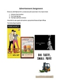 GRAPHIC DESIGN- advertisement lesson