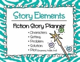 GRAPHIC ORGANIZER - Fiction Story Planner using Story Elements
