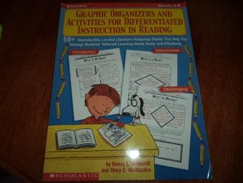 GRAPHIC ORGANIZERS  ISBN 0-439-33165-X