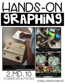 GRAPHING | Hands On Activities for Bar Graphs & Picture Graphs