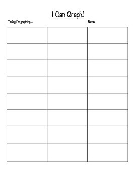 GRAPHING PACKET! Many graphs for ALL graphing activities! GREAT modifying!