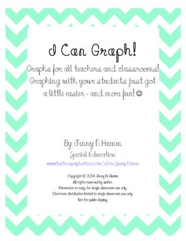 GRAPHING PACKET! Many graphs for ALL graphing activities!