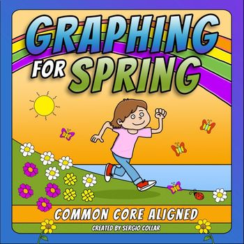 GRAPHING for SPRING - Common Core Aligned 1.MD.4/ 2.MD.10