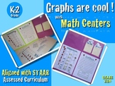 GRAPHS ARE COOL !!! Math Center K-2 ENGLISH
